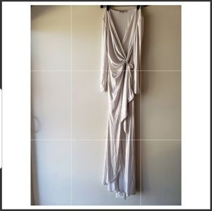 White polyester dress from House of cb